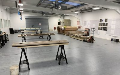 New Joinery Workshop for Taylor Made Joinery