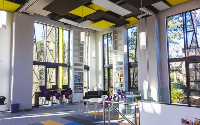 New Library for Newmarket Academy